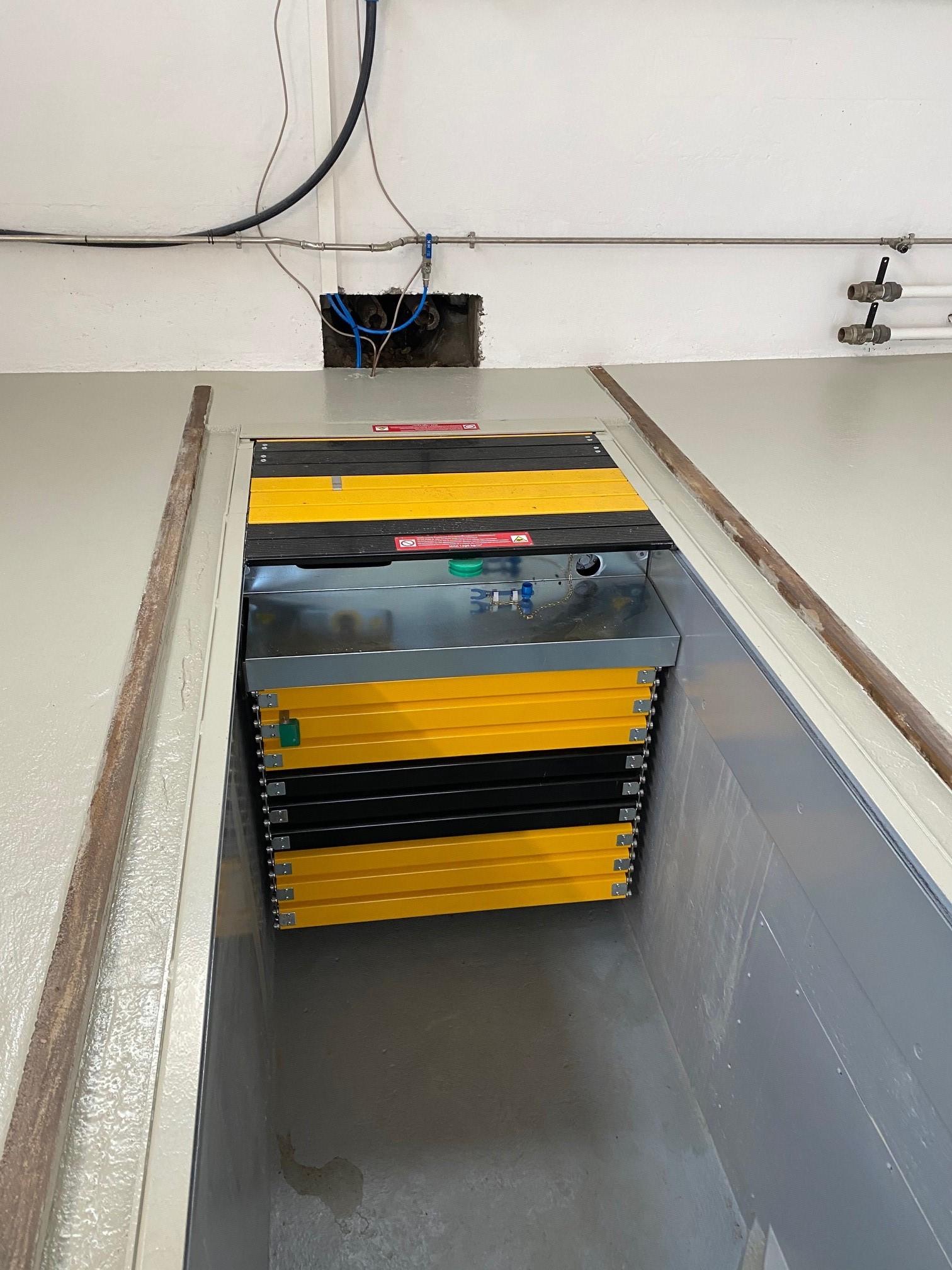 Die automatische Grubenabdeckung für mehr Nutzfläche und Sicherheit in der Werkstatt