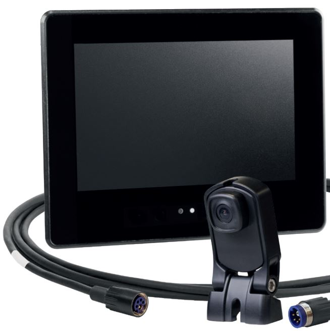 Digitales Kamera-Monitor-System von Orlaco. 7-Zoll Economy Rearview HiRes-Set (0410100) • 7-Zoll-HiRes-Monitor mit 1,5 m Videokabel und 1,75 m Netzkabel • 120° HMOS Spiegelkamera • 11 m GMSL-Kabel