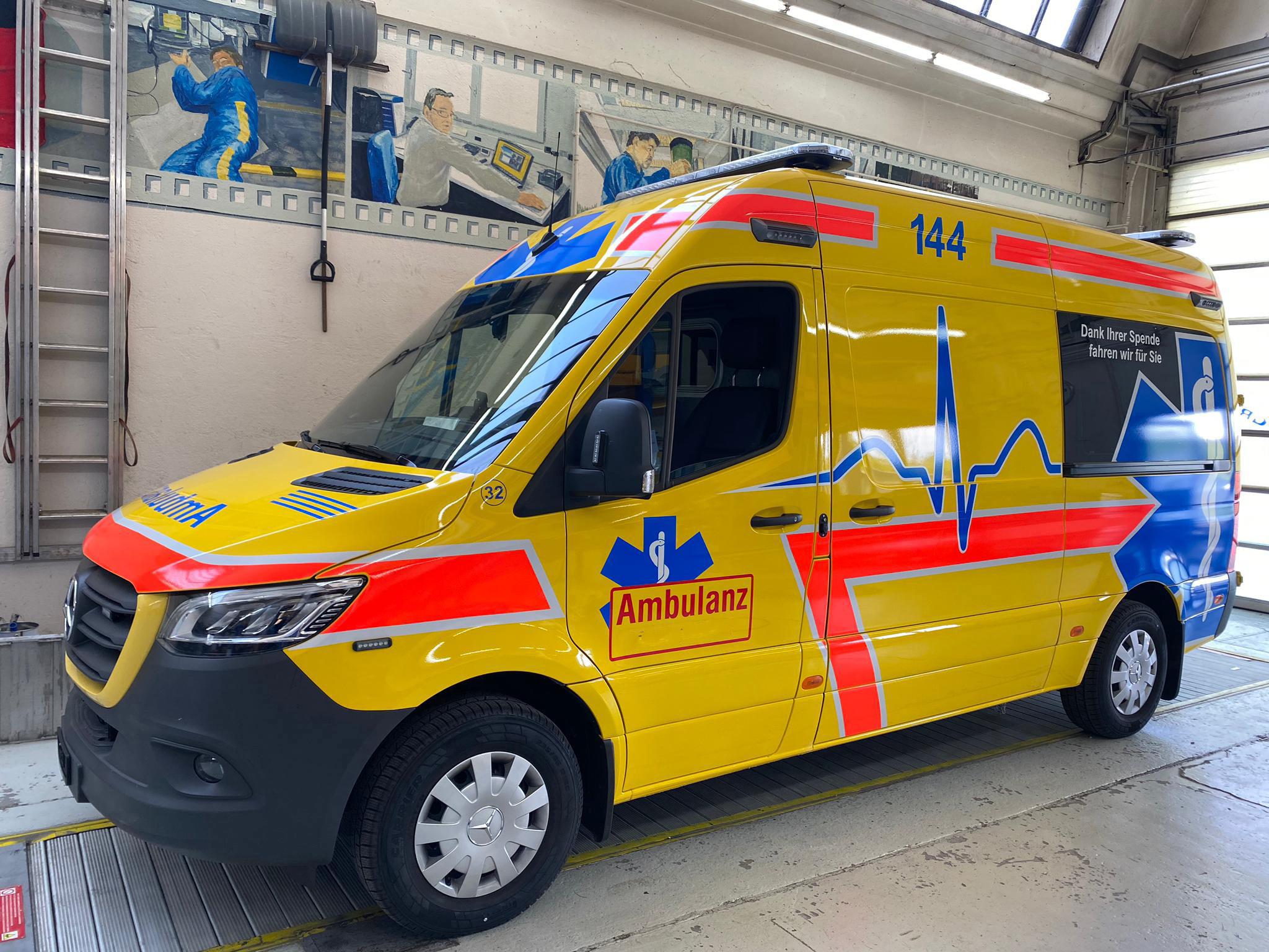 Schleuderketten Rotogrip LT für leichte Nutzfahrzeuge wie Ambulanzfahrzeuge