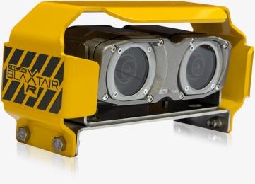 Blaxtair ist ein Fussgängererkennungssystem, welches zur Kollisionsvermeidung und Personenerkennung dient