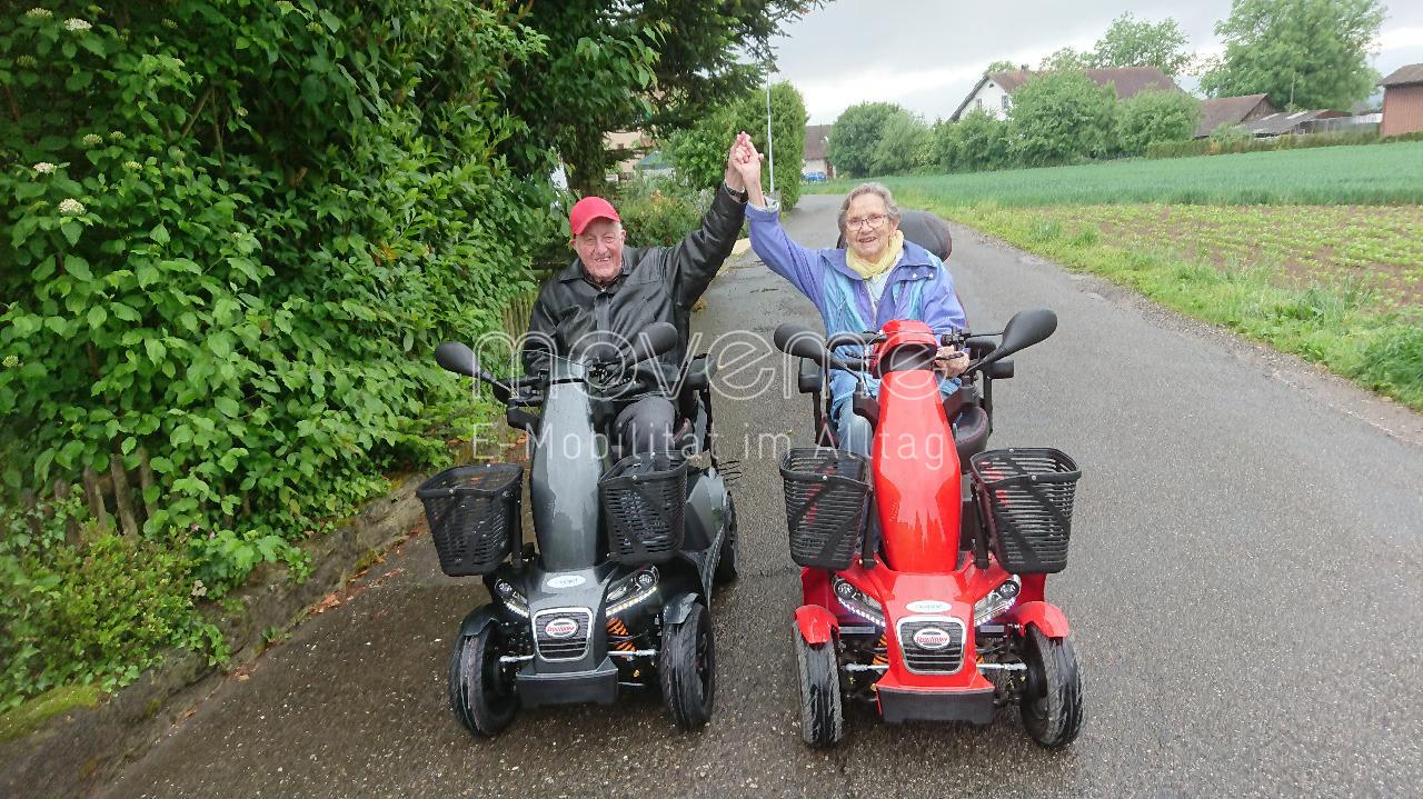 Elektromobil move Sport anthrazit oder rot