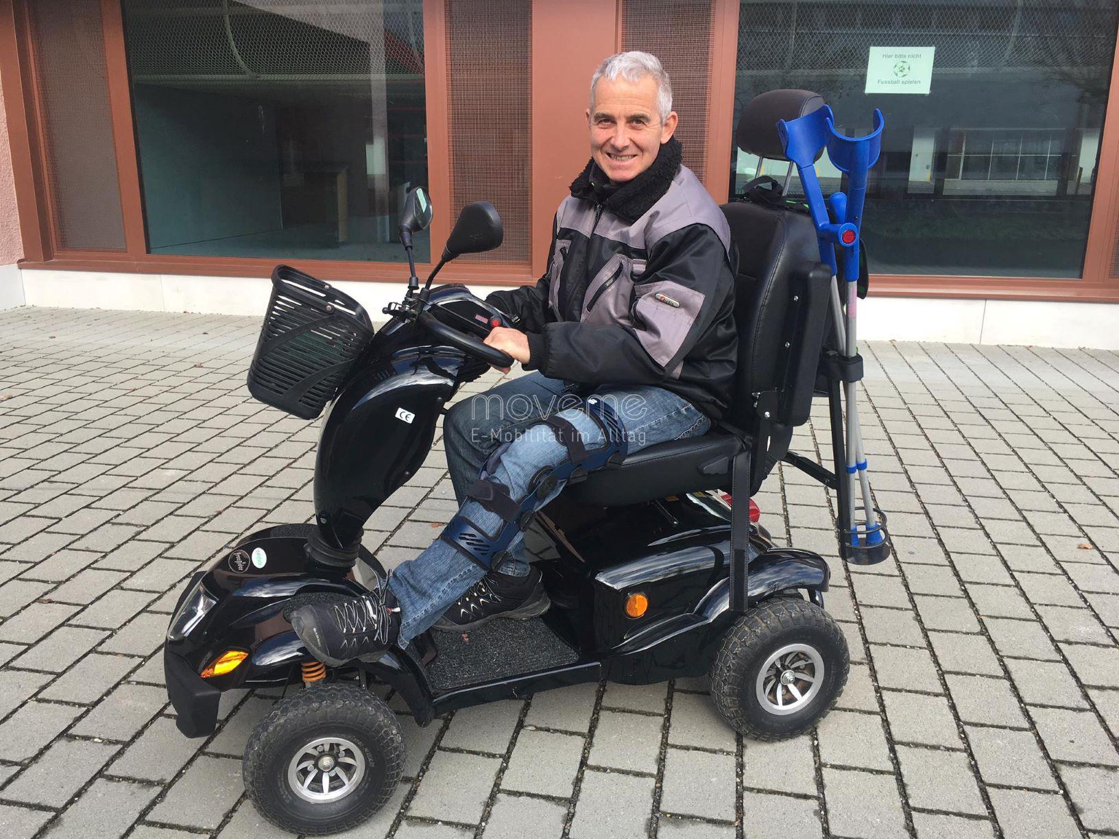 Elektromobil move Highlander - das geländetaugliche Seniorenmobil