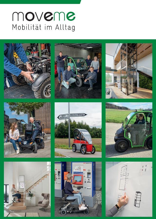 Im Booklet erfahren Sie mehr über uns, unsere Seniorenmobile, Treppenlifte und Plattformlifte. Sie erhalten einen Einblick über unsere Dienstleistungen, Service und Angebot